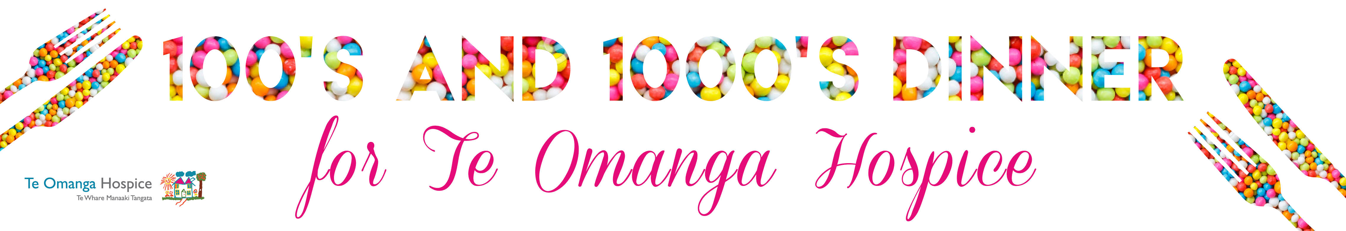 100s and 1000s dinner for Te Omanga Hospice